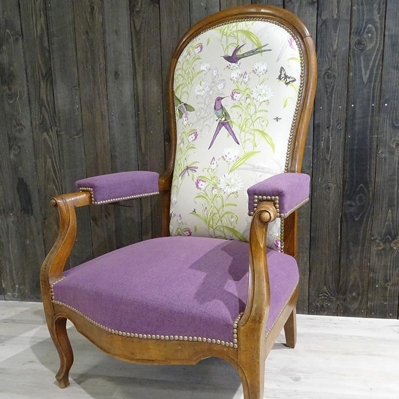 Le fauteuil Voltaire